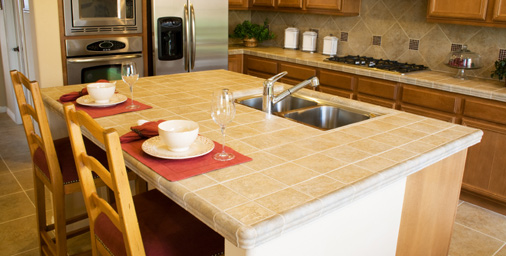 Kitchen Countertop Trends In Tile